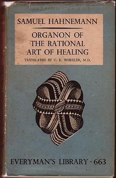 Origin of the rational art of healing by Samuel Hahnemann